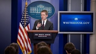 3/14/14: White House Press Briefing