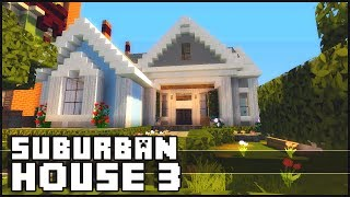 Minecraft - Small Suburban House 3